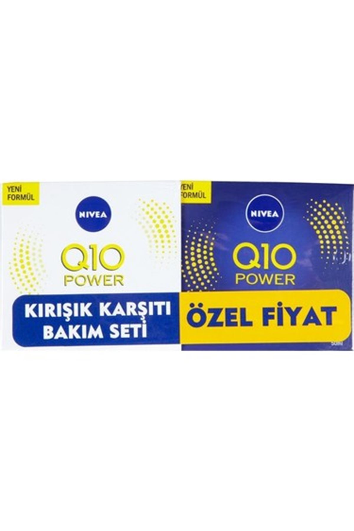 Nivea Q10 Power Kırışıklık Karşıtı Gece Kremi 50 ml+ Gündüz Kremi 50 Ml