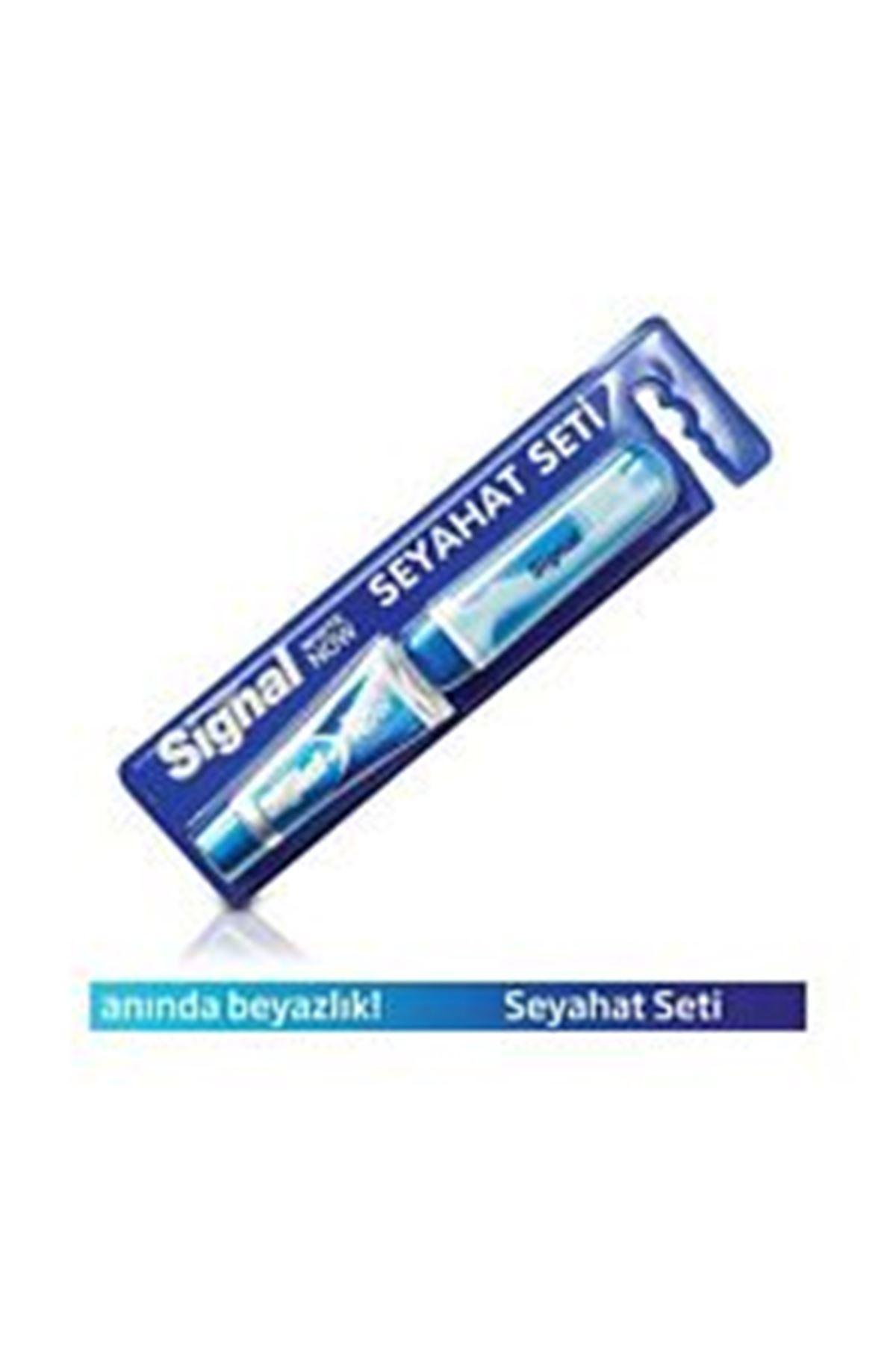 Signal White Now Seyahat Seti / diş macunu+diş fırçası